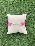 Armbandje met bit roze_
